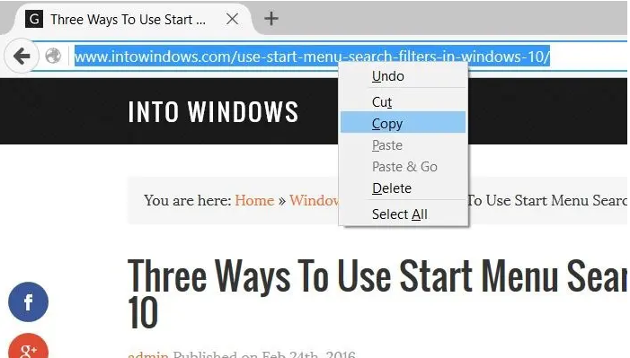 How to Add Website to Home Screen Windows 10
