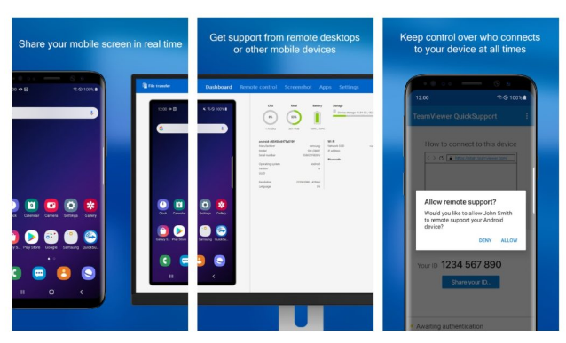 how to remotely control an android phone