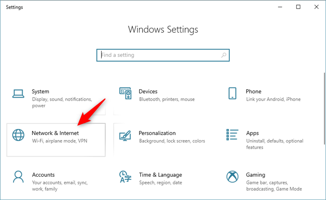 what is hidden network windows 10