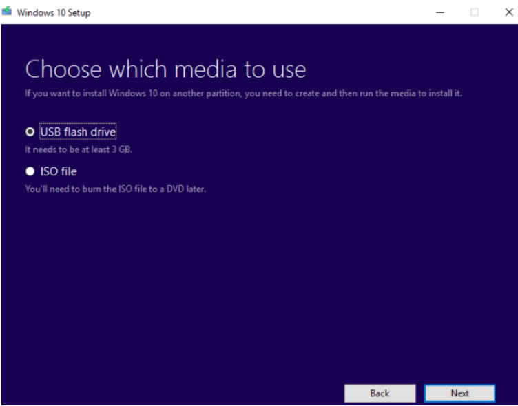 How to make a bootable CD for windows 10