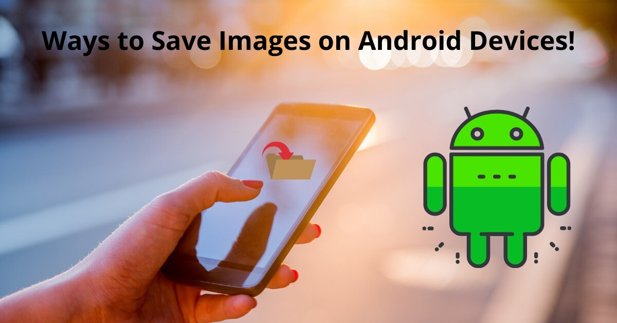 How to save a picture on an android
