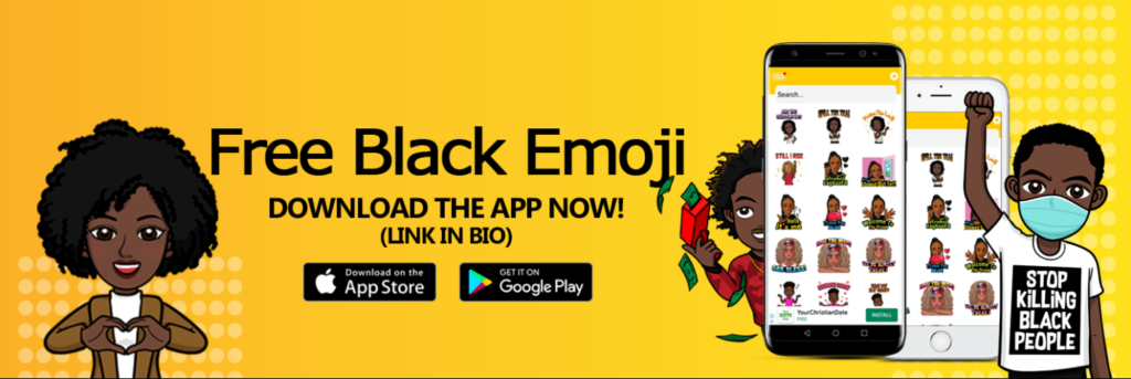 how to get black emoji on android