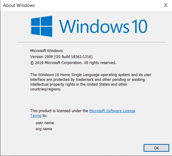 what build of windows 10 do i have