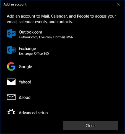 how to import contacts into windows 10 mail