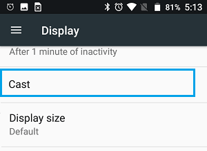 how to chromecast from chrome android