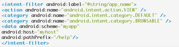 what is deep link android