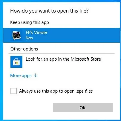 how to open eps files on windows 10