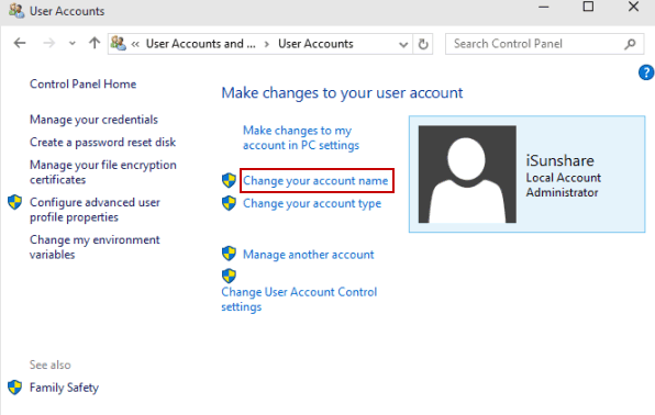 how do i find out my administrator password windows 10