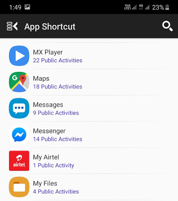 how to change app names android