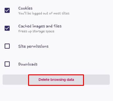 how do i clear my cache and cookies on my android phone