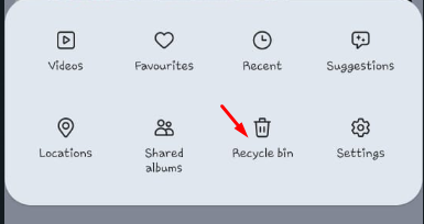 how to retrieve deleted video in android